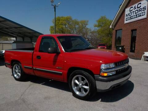 2002 Chevrolet Silverado 1500 for sale at C & C MOTORS in Chattanooga TN