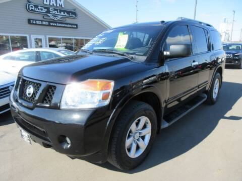 2014 Nissan Armada for sale at Dam Auto Sales in Sioux City IA