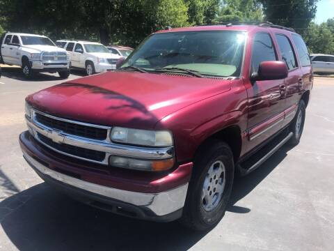 2004 Chevrolet Tahoe for sale at Sartins Auto Sales in Dyersburg TN