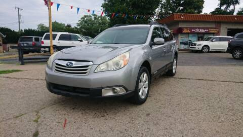 2011 Subaru Outback for sale at Lamarina Auto Sales in Dearborn Heights MI