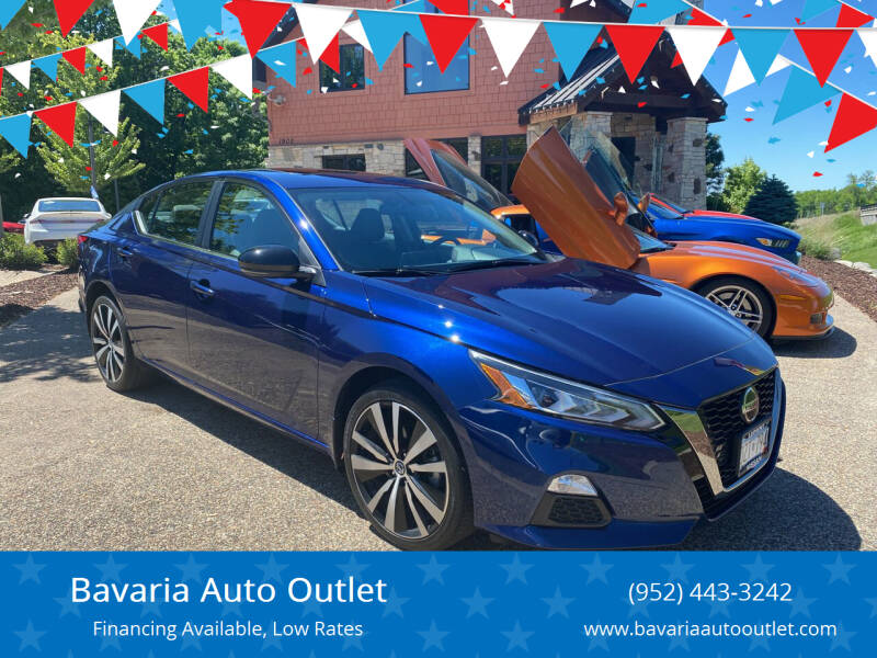 2019 Nissan Altima for sale at Bavaria Auto Outlet in Victoria MN
