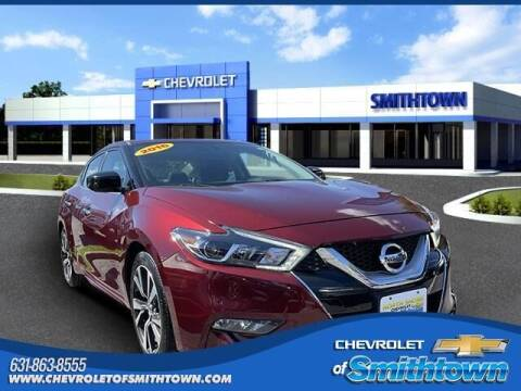 2016 Nissan Maxima for sale at CHEVROLET OF SMITHTOWN in Saint James NY