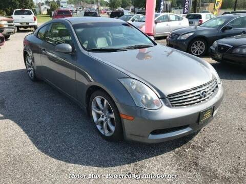 2006 Infiniti G35 for sale at Auto Legend Inc in Linden NJ