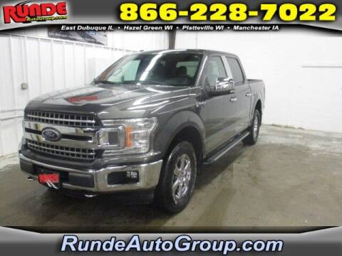 2018 Ford F-150 for sale at Runde PreDriven in Hazel Green WI