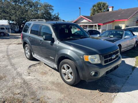 2008 Ford Escape for sale at DAVINA AUTO SALES in Casselberry FL