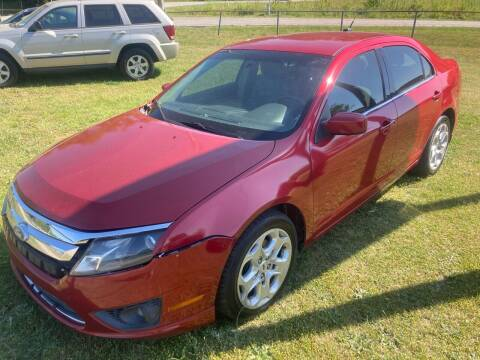 2011 Ford Fusion for sale at UpCountry Motors in Taylors SC