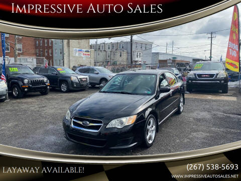 2009 Subaru Legacy for sale at Impressive Auto Sales in Philadelphia PA