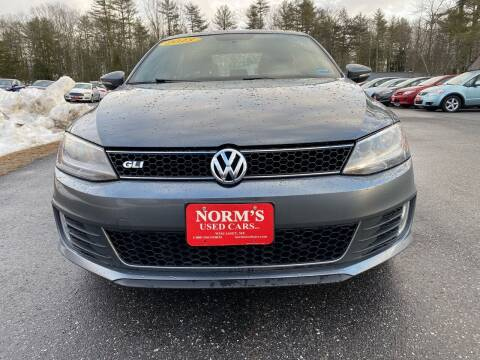 2013 Volkswagen Jetta for sale at NORM'S USED CARS INC - Trucks By Norm's in Wiscasset ME