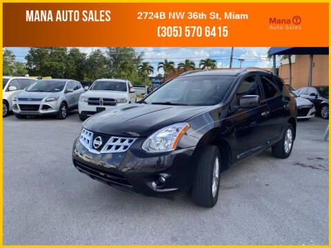 2013 Nissan Rogue for sale at MANA AUTO SALES in Miami FL