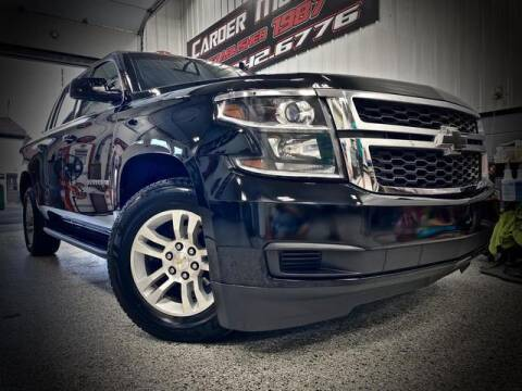 2015 Chevrolet Suburban for sale at Carder Motors Inc in Bridgeport WV