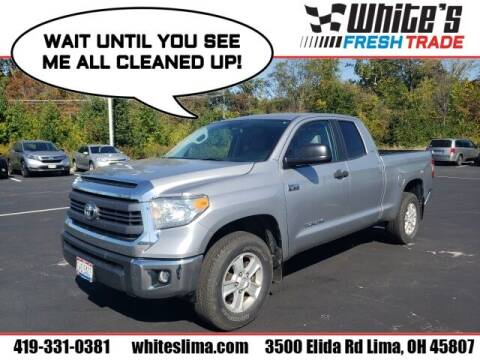 2014 Toyota Tundra for sale at White's Honda Toyota of Lima in Lima OH