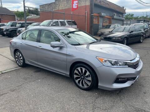 2017 Honda Accord Hybrid for sale at United Auto Sales of Newark in Newark NJ
