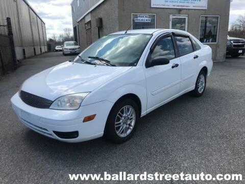 2005 Ford Focus for sale at Ballard Street Auto in Saugus MA