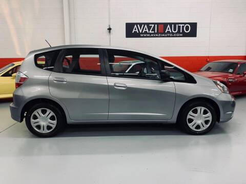 2010 Honda Fit for sale at AVAZI AUTO GROUP LLC in Gaithersburg MD