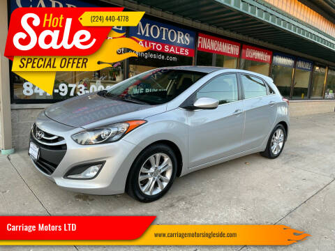 2014 Hyundai Elantra GT for sale at Carriage Motors LTD in Ingleside IL