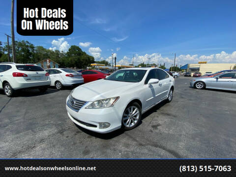 2011 Lexus ES 350 for sale at Hot Deals On Wheels in Tampa FL