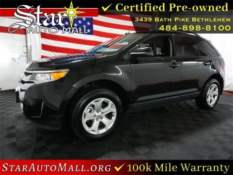 2014 Ford Edge for sale at STAR AUTO MALL 512 in Bethlehem PA
