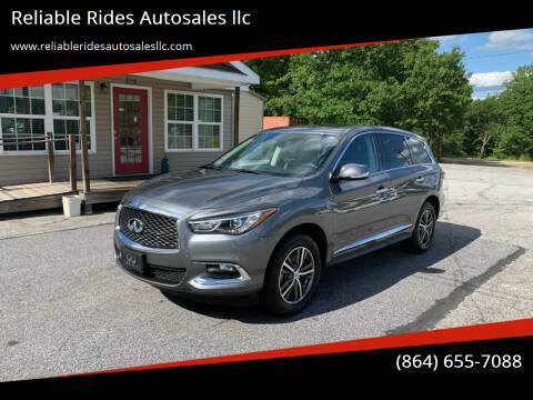 2018 Infiniti QX60 for sale at Reliable Rides Autosales llc in Greer SC
