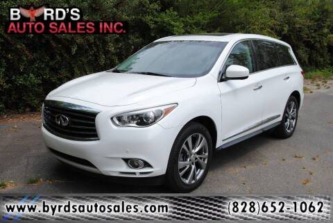 2013 Infiniti JX35 for sale at Byrds Auto Sales in Marion NC