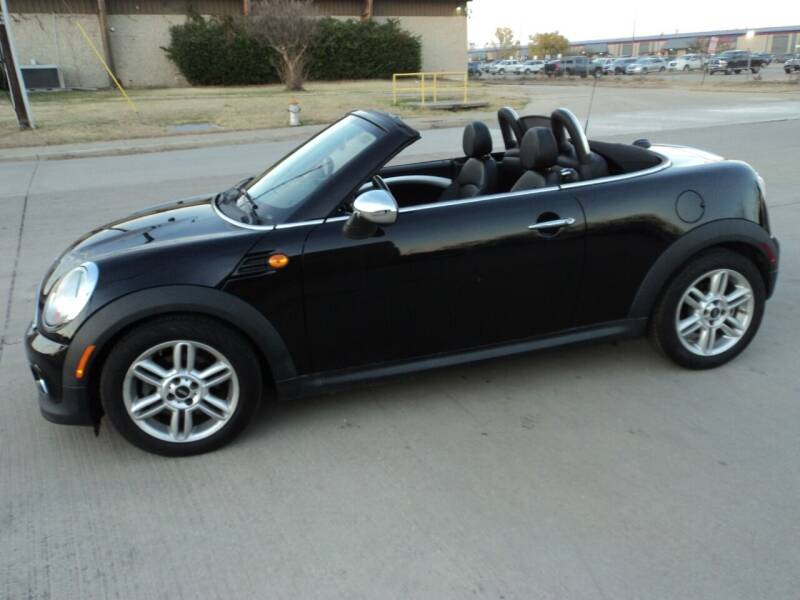 2013 MINI Roadster for sale at SPORT CITY MOTORS in Dallas TX