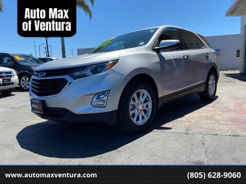 2019 Chevrolet Equinox for sale at Auto Max of Ventura in Ventura CA