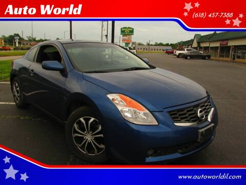 2009 Nissan Altima for sale at Auto World in Carbondale IL