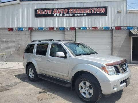 2005 Nissan Pathfinder for sale at Elite Auto Connection in Conover NC