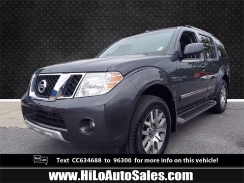 2012 Nissan Pathfinder for sale at Hi-Lo Auto Sales in Frederick MD