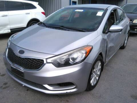 2014 Kia Forte for sale at TEXAS MOTOR CARS in Houston TX