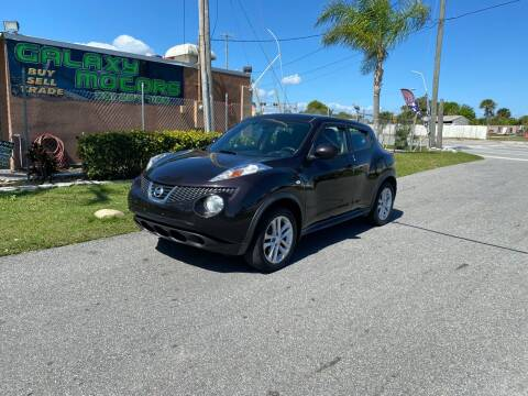 2014 Nissan JUKE for sale at Galaxy Motors Inc in Melbourne FL
