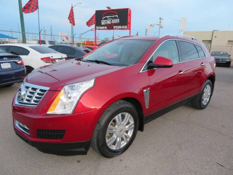 2013 Cadillac SRX for sale at Moving Rides in El Paso TX