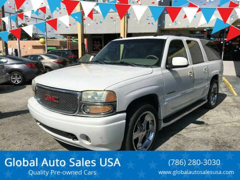 2004 GMC Yukon XL for sale at Global Auto Sales USA in Miami FL