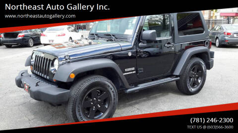 2011 Jeep Wrangler for sale at Northeast Auto Gallery Inc. in Wakefield Ma MA