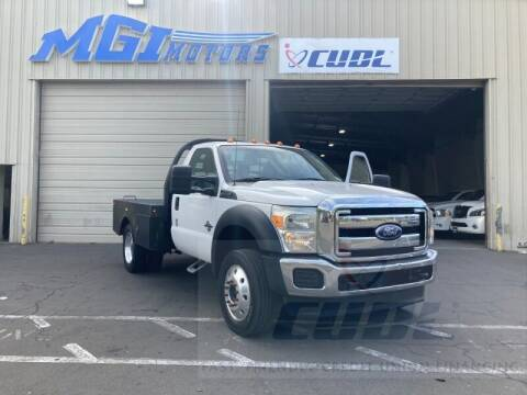 2013 Ford F-550 Super Duty for sale at MGI Motors in Sacramento CA