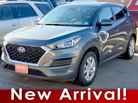 2019 Hyundai Tucson for sale at Jacksons Car Corner Inc in Hastings NE