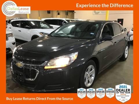 2014 Chevrolet Malibu for sale at Dallas Auto Finance in Dallas TX