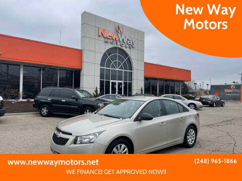 2013 Chevrolet Cruze for sale at New Way Motors in Ferndale MI