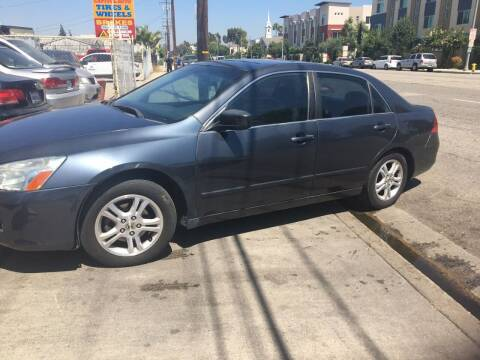 2006 Honda Accord for sale at Bell Auto Inc in Long Beach CA