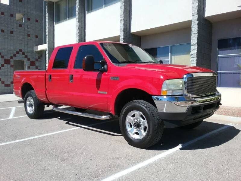 2004 Ford F-250 Super Duty for sale at Nevada Credit Save in Las Vegas NV