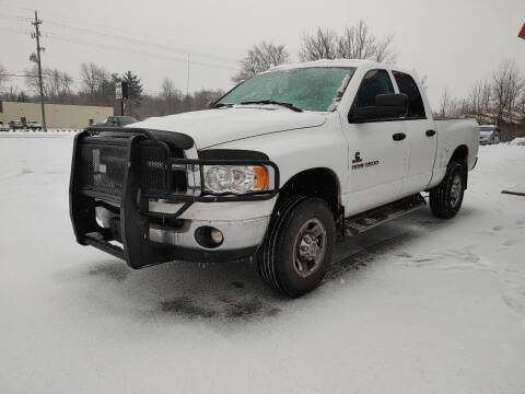 2004 Dodge Ram Pickup 2500 for sale at Cruisin' Auto Sales in Madison IN