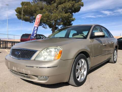 2006 Ford Five Hundred for sale at Eastside Auto Sales in El Paso TX