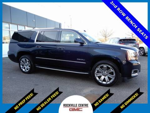 2019 GMC Yukon XL for sale at Rockville Centre GMC in Rockville Centre NY