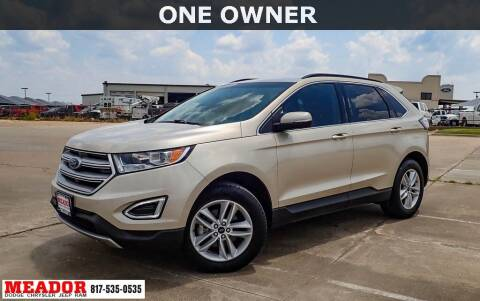 2018 Ford Edge for sale at Meador Dodge Chrysler Jeep RAM in Fort Worth TX