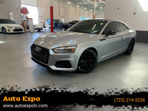 2018 Audi A5 for sale at Auto Expo in Las Vegas NV