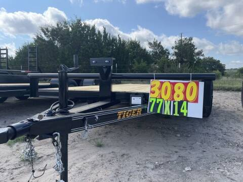 """2021 TIGER  - UTILITY 77"""" X 14' - for sale at LJD Sales in Lampasas TX"""