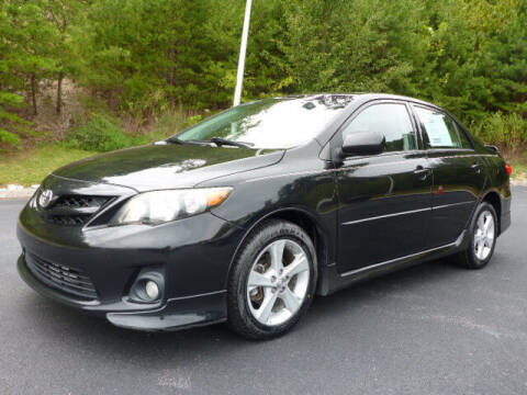 2012 Toyota Corolla for sale at RUSTY WALLACE KIA OF KNOXVILLE in Knoxville TN