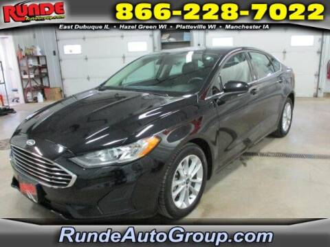 2019 Ford Fusion for sale at Runde Chevrolet in East Dubuque IL