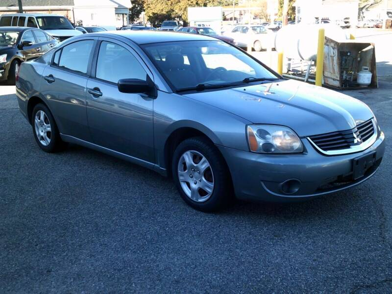 2007 Mitsubishi Galant for sale at Wamsley's Auto Sales in Colonial Heights VA