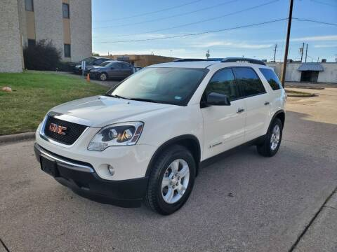 2007 GMC Acadia for sale at DFW Autohaus in Dallas TX