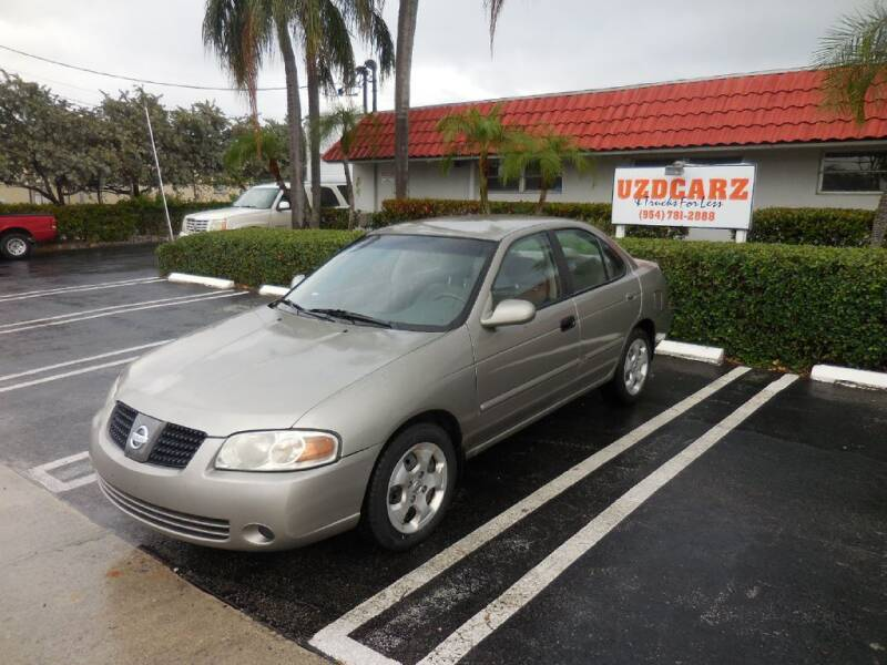 2004 Nissan Sentra for sale at Uzdcarz Inc. in Pompano Beach FL